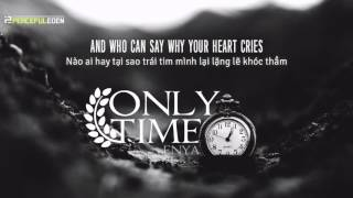 Lyrics + Vietsub || Only Time || Enya || Sweet November OST