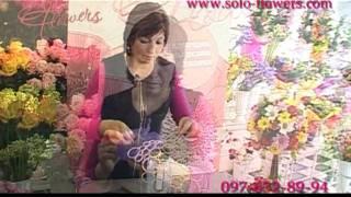 Свадебный букет на каркасе от Solo Flowers