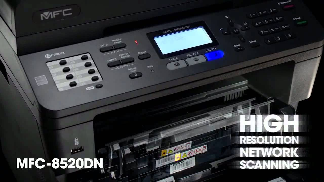 Brother Mfc 8520dn Laser Printer Youtube