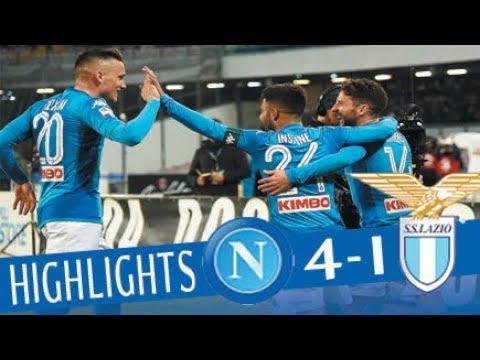 Napoli - Lazio 4-1 - Highlights - Giornata 24 - Serie A TIM 2017/18