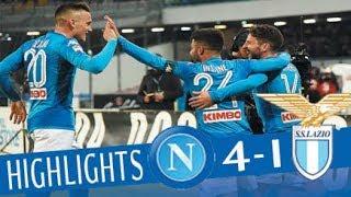Napoli   Lazio 4 1   Highlights   Giornata 24   Serie A Tim 2017/18