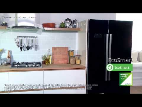 Take a look at our American Style Fridge Freezer in action | Beko