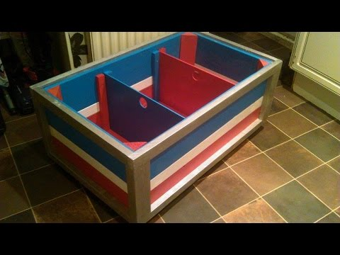 How to build your own children 39 s toy chest out of Build your own toy chest