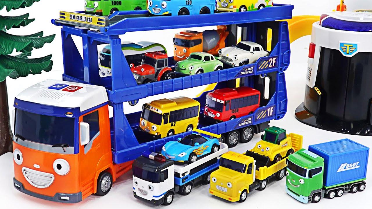 يتم إرسال مجموعة صغيرة من المعدات الثقيلة وسيارة الشرطة وسيارة حاملة طويلة ~!