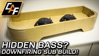 Building a Downfiring Subwoofer Box - Stacked Corners!