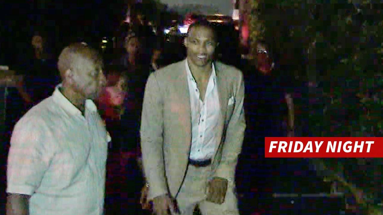 Russell Westbrook Hits Hollywood Nightclub Night Before Wedding
