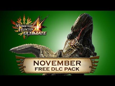 Monster Hunter 4 Ultimate - November DLC Pack
