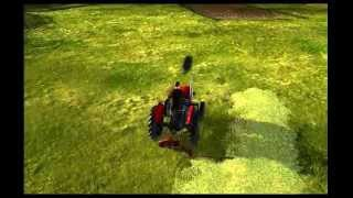Agricultural Simulator Historical Farming Grass Bales