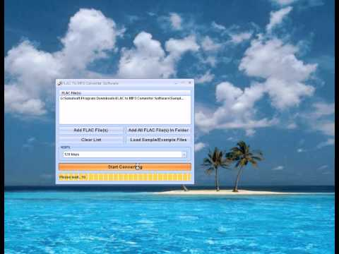How To Use FLAC To MP3 Converter Software