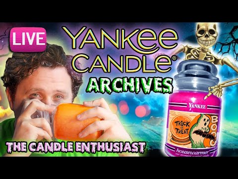 LIVE - My Yankee Candle HALLOWEEN Collection - ARCHIVES HAUL