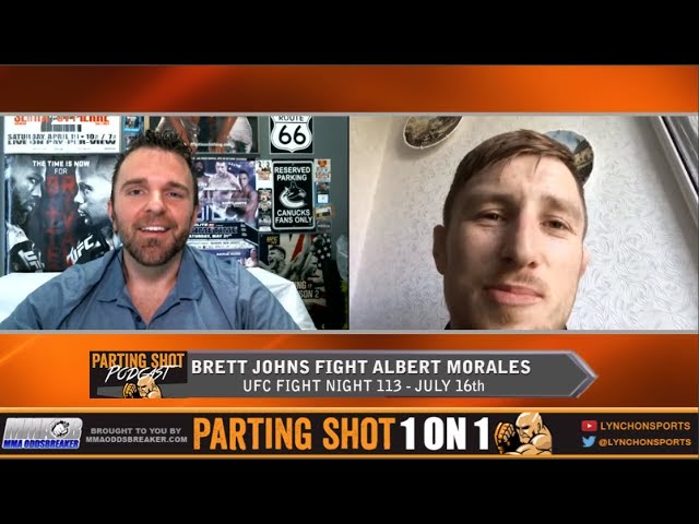 "UFC Fight Night 113's Brett Johns ""It's been a five-six month training camp"""