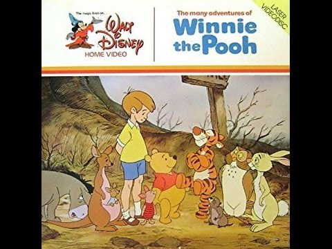 """Opening to """"The Many Adventures of Winnie The Pooh"""" 1981 CLV LaserDisc - YouTube"""