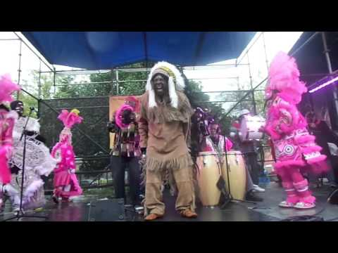 Congo Square - Black (Madi Gras) Indians - New Orleans, LA - March 19, 2016