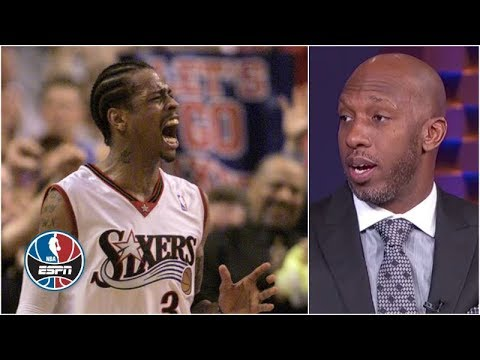 Allen Iverson was the player Chauncey Billups feared the most | NBA Countdown