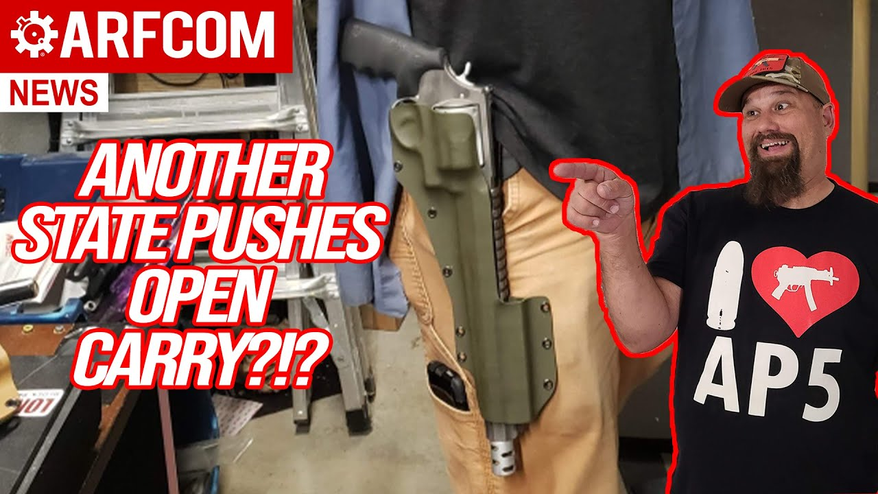 [ARFCOM NEWS] Another State Pushes Open Carry?!? + On Location @ The Gathering @ The Sawmill