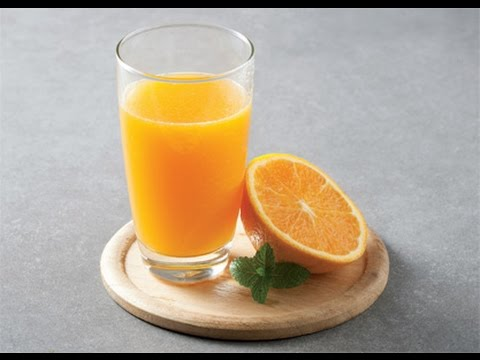 Orange juice : Hurom Slow Juicer - YouTube