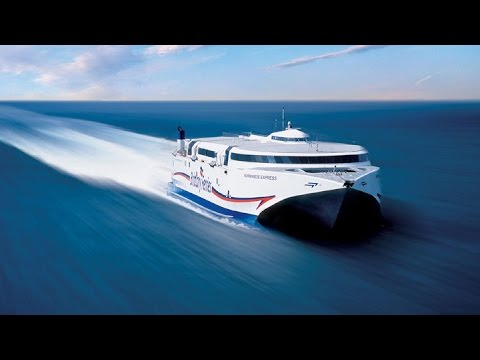 tasmanian exemplar robert clifford incat fast ferry catamarans funnycat tv. Black Bedroom Furniture Sets. Home Design Ideas