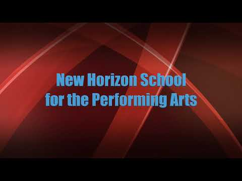 Sony nx30 New Horizon School for the Performing Arts