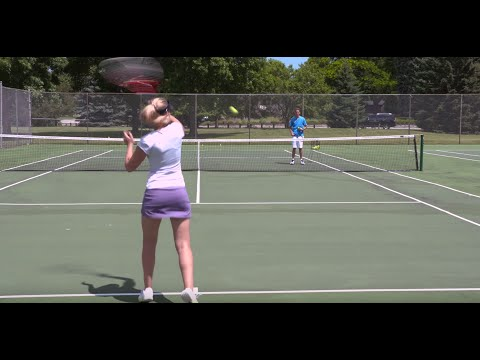 Massive Forehand Topspin - Tennis Lesson