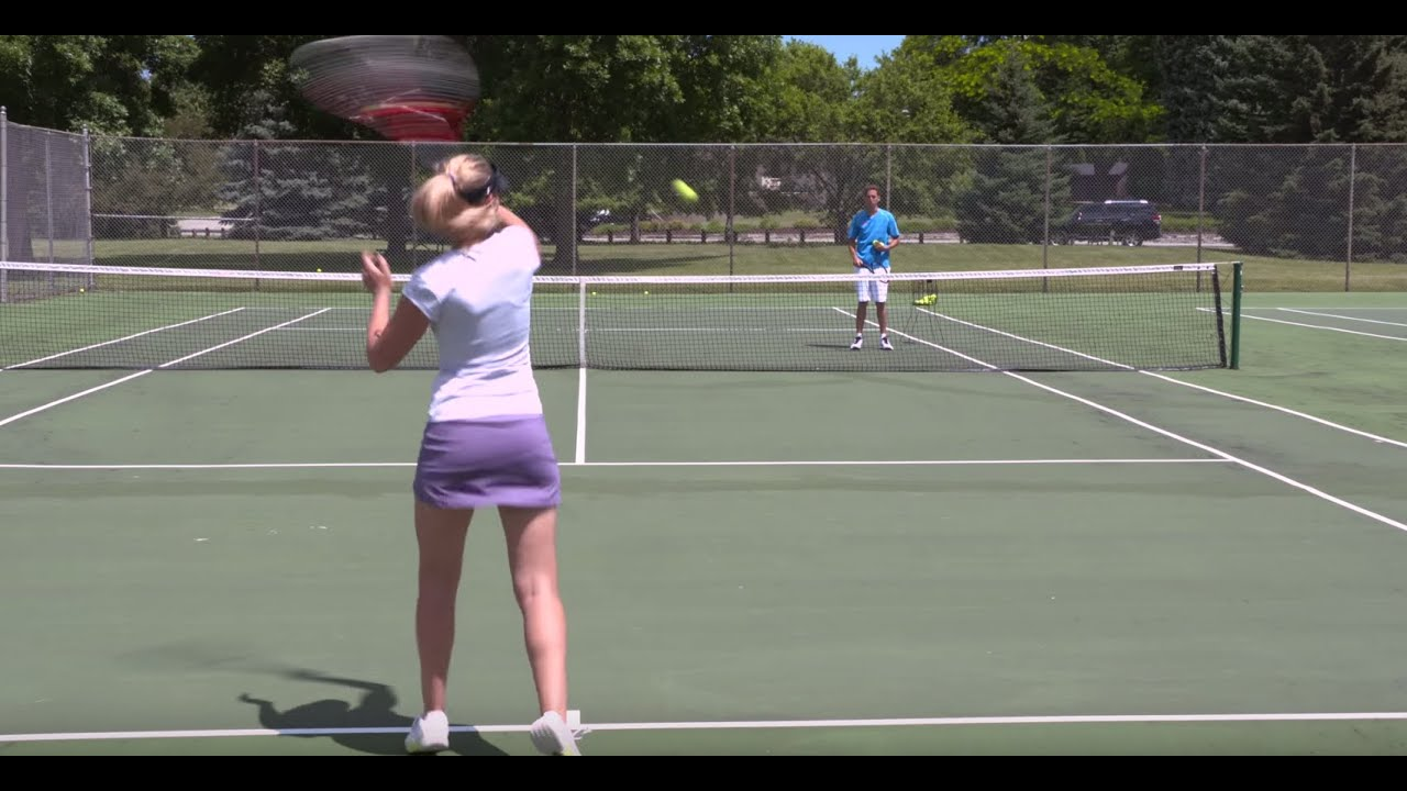 How-to: tennis forehand pro tennis tips.