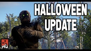 HALLOWEEN EVENT - Scarecrow, Sickle, Candles & More! - Rust