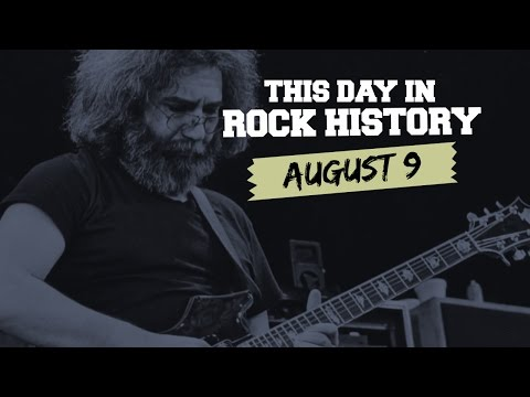 Jerry Garcia Dies, Kiss Stage 'Unplugged' Reunion - August 9 in Rock History
