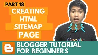 Blogger Tutorial for Beginners - Creating HTML Sitemap Page - Part 18 thumbnail