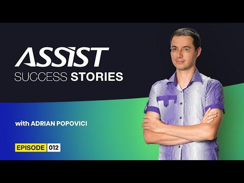 Meet the team - Ep. 12   Interviu cu Adrian Popovici - Software Developer   ASSIST Software
