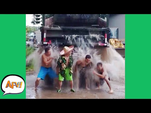 They Got a TRUCK FULL of FAIL! 😅 | Funny Fails | AFV 2020