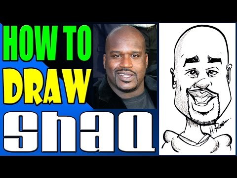 How To Draw A Quick Caricature Shaq