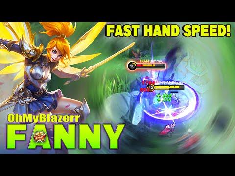 Fanny Fast Hand Speed! Top Global Fanny by OhMyBlazerr ~ MLBB
