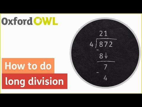 How to do long division | Oxford Owl