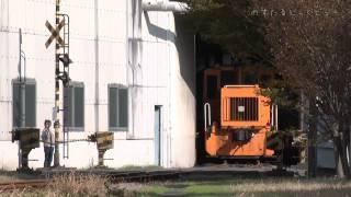 新幹線の線路脇にこんなステキなシーンが展開してました。富士工場富士...