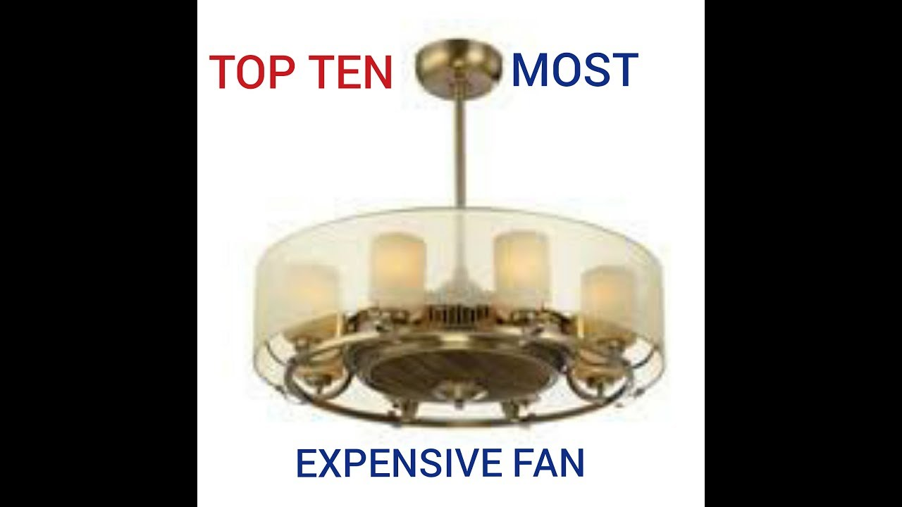 Most Expensive Ceiling Fan In The World