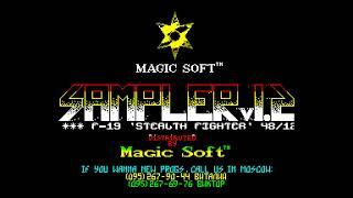 Sampler 2 - Pencraft Software/Magic Soft [#zx spectrum AY Music Demo]