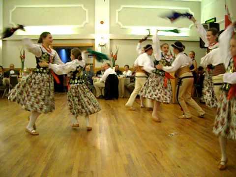 Quot Polonez Quot Dance Group Hamilton Canada Oct 2014 Youtube