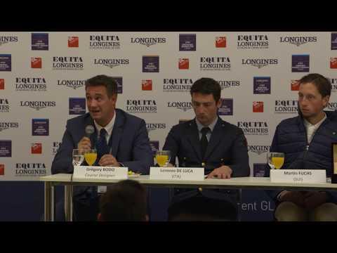 Conférence de presse du Grand Prix Longines 5* de Lyon