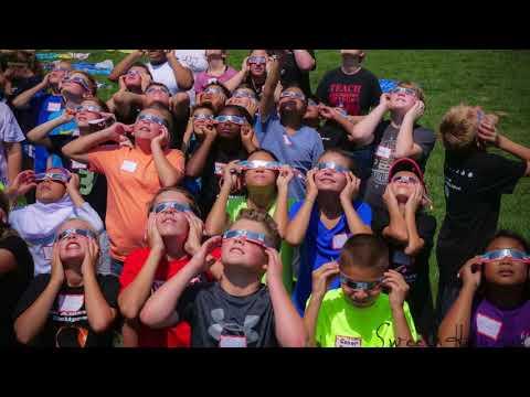 Solar Eclipse Oakville Middle School