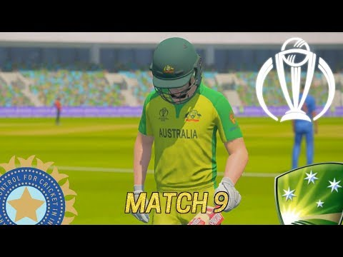 ICC CRICKET WORLD CUP 2019 GAMING SERIES - INDIA V AUSTRALIA MATCH 9 (ASHES CRICKET 19)