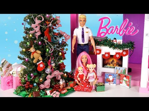 Barbie Family Once Upon a Holiday Story with Goldie & Titi Toys