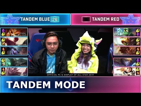 Tandem Mode Show Match Ft Uzi Tian Godlike Stanley Day 3 2019 Lol All Star Event