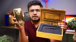 iPhone 12 Pro Max Gold Plated Unboxing
