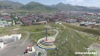Erzurum Atlama Kuleleri Havadan Görüntüler