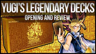 Yugi's Legendary Decks Opening & Review