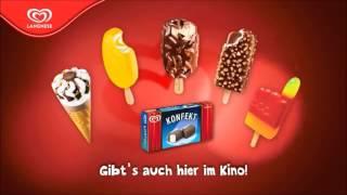Langnese Eiscreme , gibts auch hier im Kino :-D