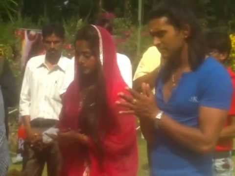 Yash Kumar and Anjana Singh in Raja Ji I Love you