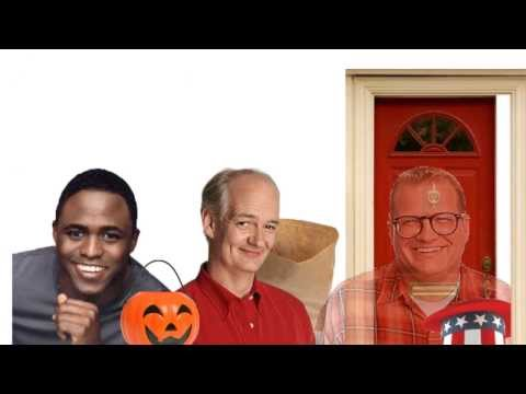 Colin Mochrie Goes Trick-or-Treating