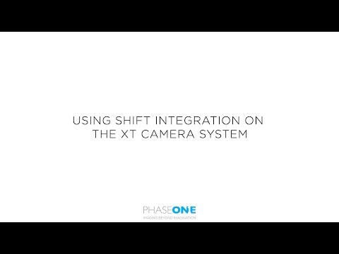 Support | Shift integration on the XT Camera System | Phase One