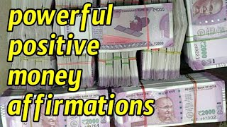 New Indian currency visualization (images) | positive affirmations for money | money affirmations