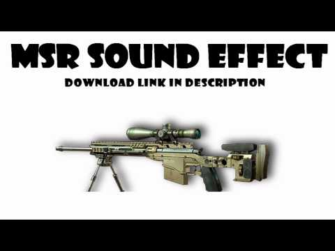 HD MW3 MSR Sound Effect Download - Bolt Action Sniper Rifle (MP3)